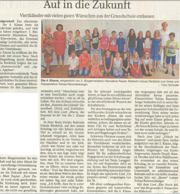 Rottaler Anzeiger  28.07.18